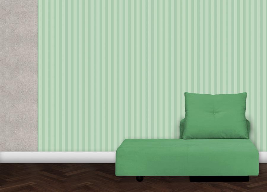 gr ne streifen tapete tiergarten gr flich m nster 39 sche. Black Bedroom Furniture Sets. Home Design Ideas